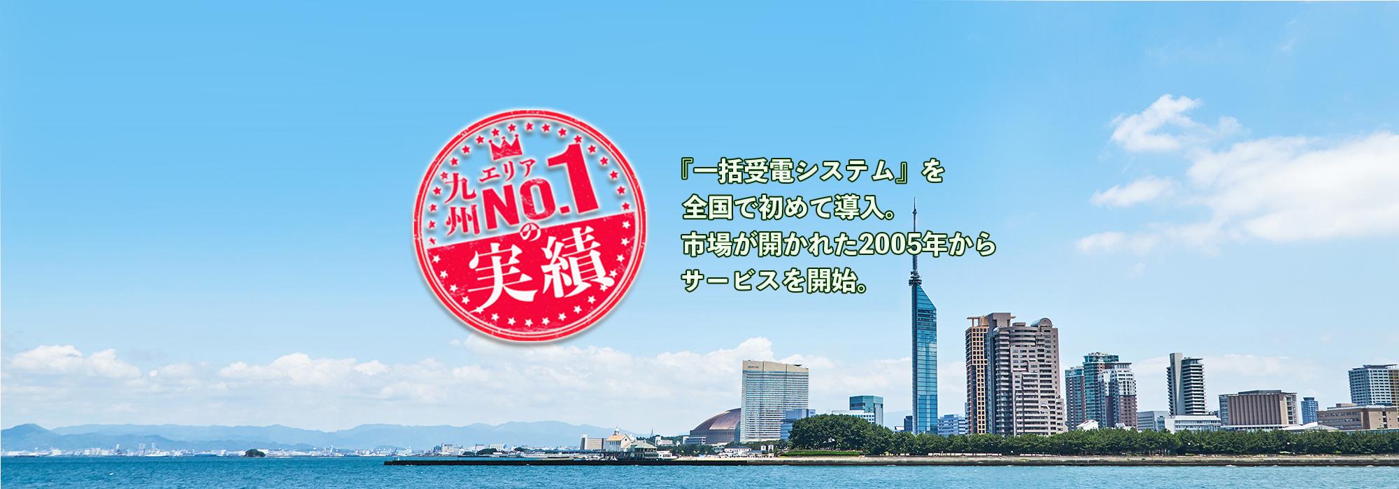 九州NO.1の実績